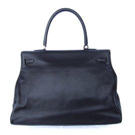 Hermès-Travel bag-Black