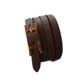 Hermès-Bracelets-Taupe (dark grey)