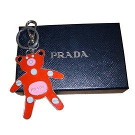 Prada-Bag charms-Red