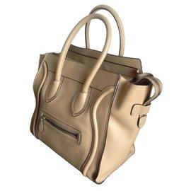 Céline-Handbags-Beige