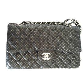 Chanel-Handbags-Black