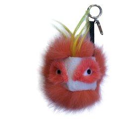 Fendi-Bag charms-Orange