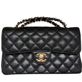 Chanel-Chanel 2.55 caviaar-Black