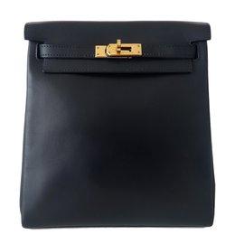 Hermès-Backpacks-Blue
