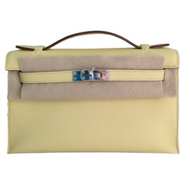 Hermès-Clutch bags-Yellow