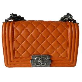 Chanel-Boy-Orange