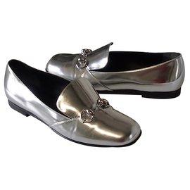 Gucci-Flats-Silvery