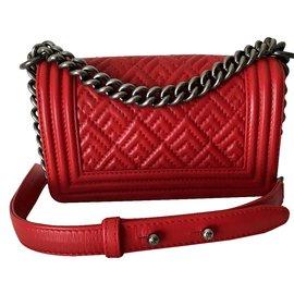 Chanel-Boy-Red