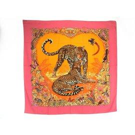 Cachemire Jungle Love / RARE - Hermès