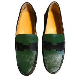 Mocassins bicolores - Hermès