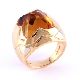 Bague Or citrine - Bulgari
