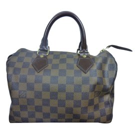 Sac Louis Vuitton Speedy 25 à damier ébène !