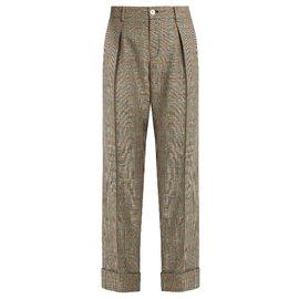 Pantalon imprimé Prince de Galles - Gucci