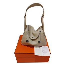 Lindy 30 couleur craie - Hermès