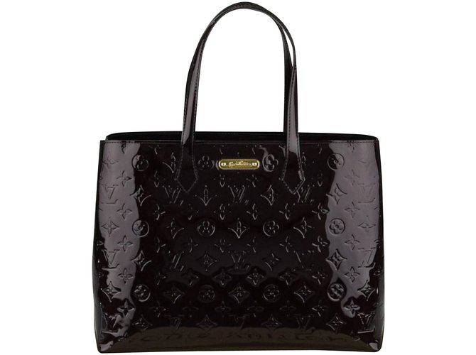 d5b1a5dba5b8 Louis Vuitton Handbags Handbags Patent leather Dark red ref.5472 ...