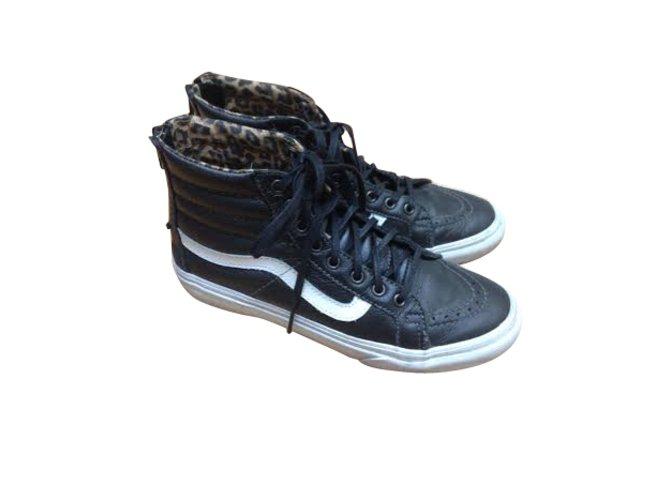 Vans Sneakers Sneakers Leather Black ref.5484 - Joli Closet