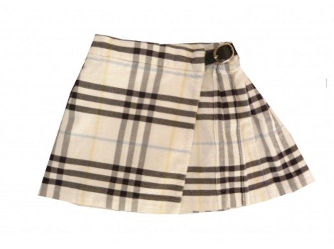 Burberry Skirts Skirts Cotton Beige ref.5592