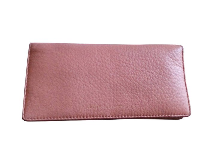 6188287f66 Marc by Marc Jacobs Wallets Wallets Leather Pink ref.6020 - Joli Closet