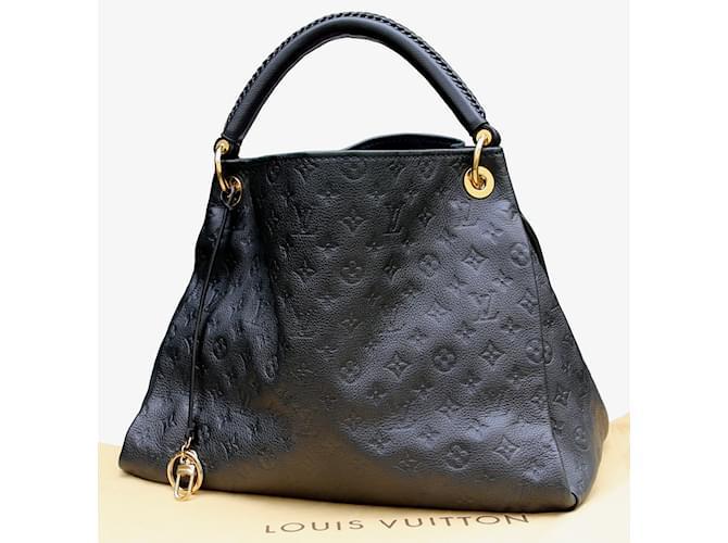 d866f564e86 Sacs à main Louis Vuitton Artsy MM Cuir Bleu ref.6147 - Joli Closet