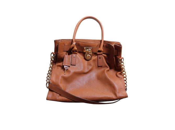 e76b0dbe546b Michael Kors Handbags Handbags Leather Caramel ref.6324 - Joli Closet