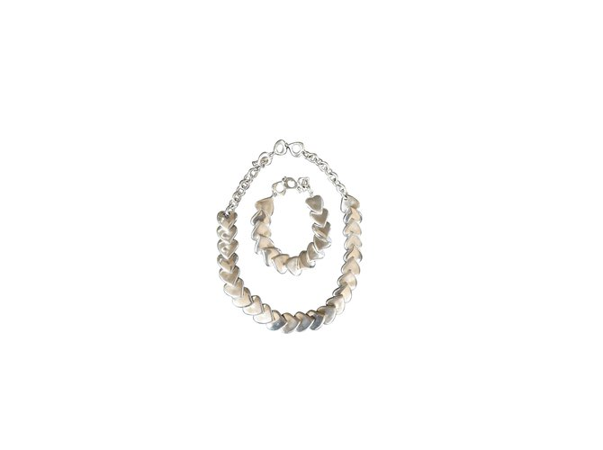 ec1ead5b1c6 Yves Saint Laurent Jewellery sets Jewellery sets Metal Silvery ref.6530