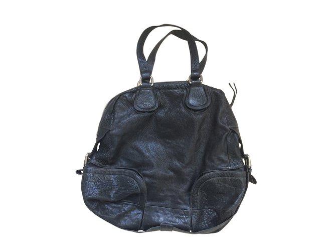 Sacs à Main Jean Paul Gaultier : Sacs ? main jean paul gaultier cuir noir ref