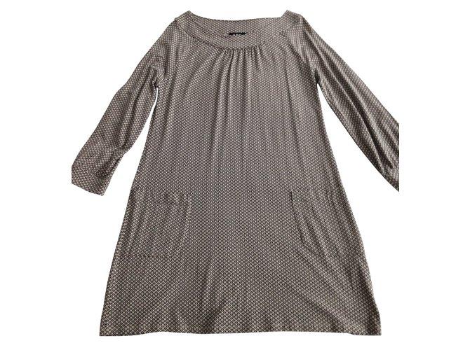 robes apc robe longueur genoux viscose autre joli closet. Black Bedroom Furniture Sets. Home Design Ideas