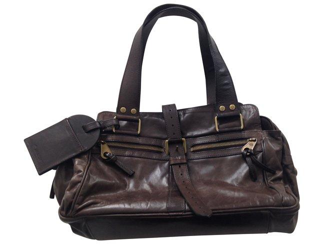 8c95661ce5dd Mulberry Handbags Handbags Leather Brown ref.6595 - Joli Closet