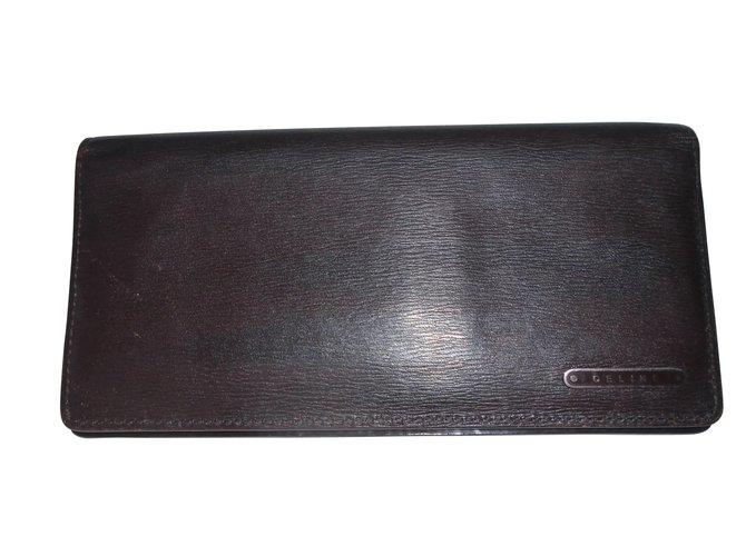 Céline Purses, wallets, cases Purses, wallets, cases Leather Brown ref.6742