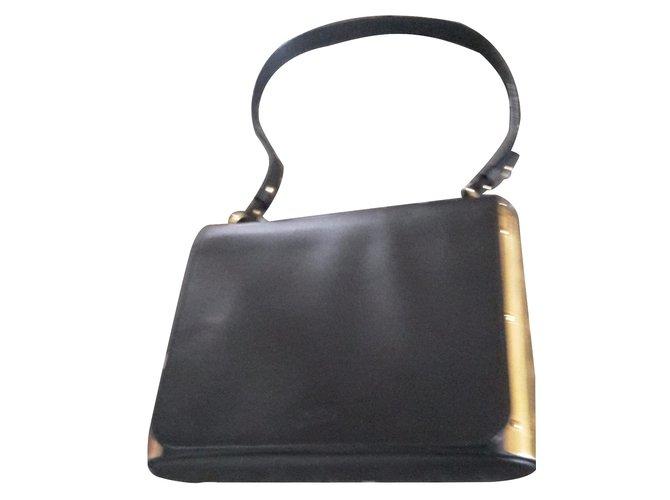 Sacs à Main Jean Paul Gaultier : Sacs ? main jean paul gaultier chrome cuir noir ref