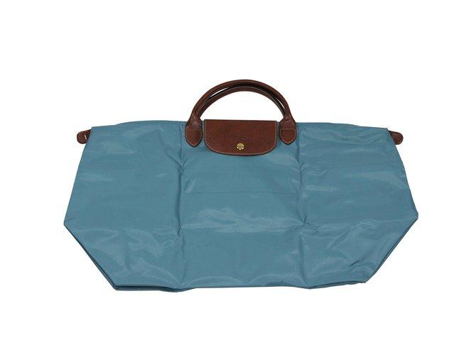 4e2c93c9f7 Sacs de voyage Longchamp Sac Pliage Nylon Autre ref.7015 - Joli Closet