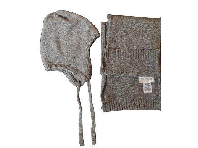 Chapeaux, bonnets, gants Eric Bompard Chapeaux, bonnets, gants Cachemire Gris ref.7224