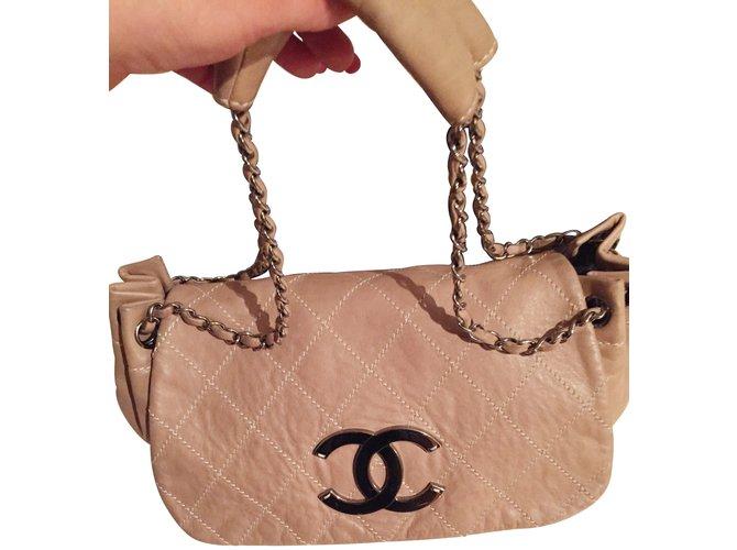 3bc936d3290226 Chanel Handbags Handbags Leather Caramel ref.7277 - Joli Closet