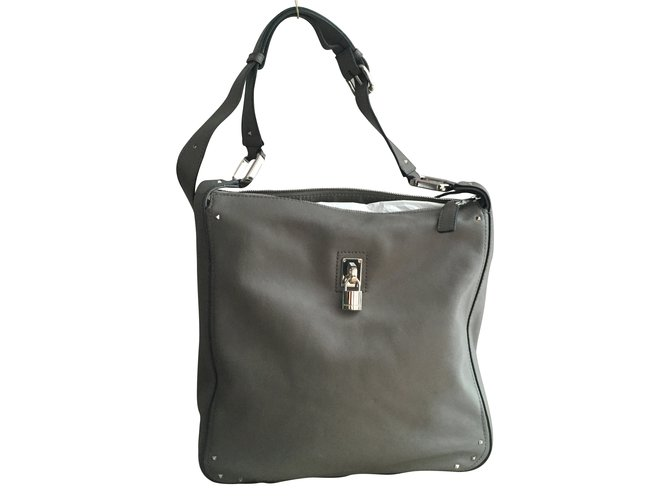 5ed0e7e773 Marc Jacobs Handbags Handbags Leather Grey ref.7335 - Joli Closet
