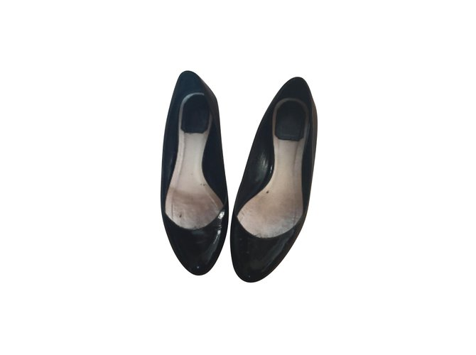 discount sneakernews Christian Dior Logo Patent Leather Flats clearance lowest price cost sale online brand new unisex cheap price footlocker sale online kuPDpqBtYq