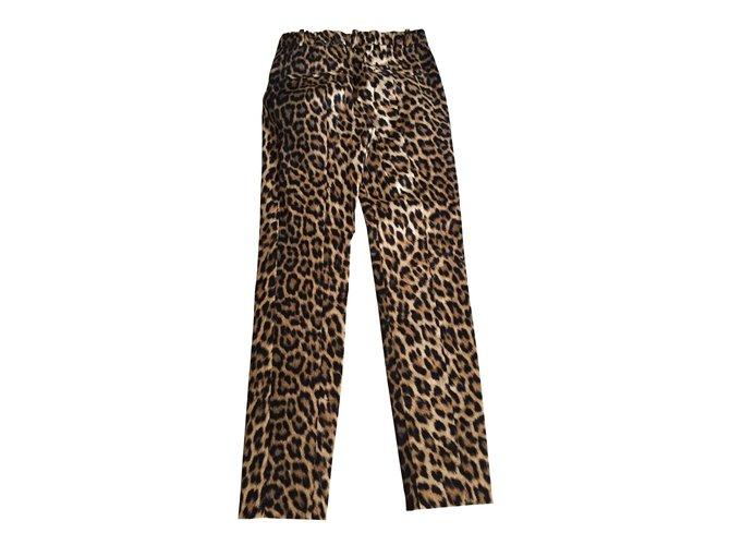 Pantalons Imprimé Zara Joli Ref 7510 Polyester Léopard mNv8On0w