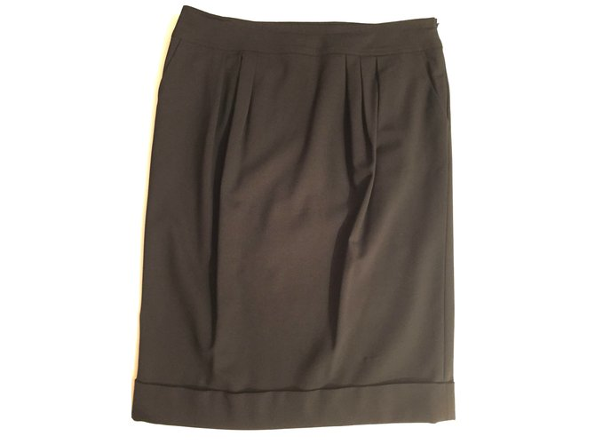 Burberry Skirts Skirts Wool Black ref.7579