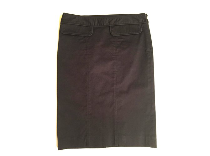 Burberry Skirts Skirts Cotton Blue ref.7580