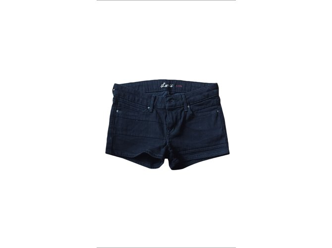 shorts levi 39 s shorts denim jeans noir joli closet. Black Bedroom Furniture Sets. Home Design Ideas