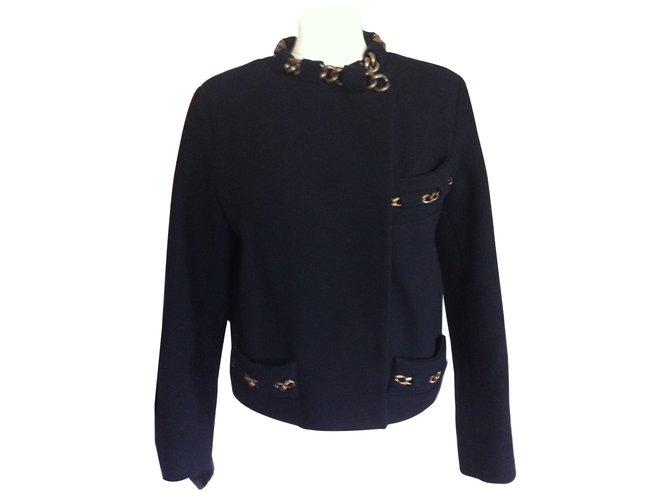 Chloé Jackets Jackets Wool Black ref.7690