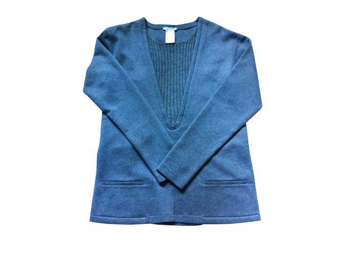 Chloé Knitwear Knitwear Cotton Grey ref.8100