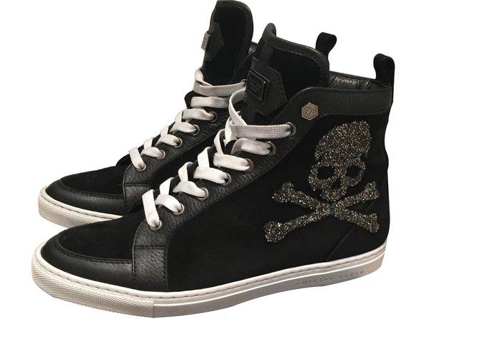 2f95f5d8af Philipp Plein Sneakers Sneakers Pony-style calfskin Black ref.8353 ...