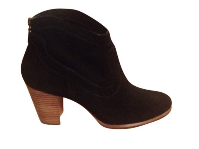 Ugg Ankle Boots Ankle Boots Suede Black ref.8504