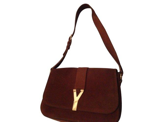 249fa46bd97d Yves Saint Laurent Handbags Handbags Deerskin Caramel ref.8594 ...