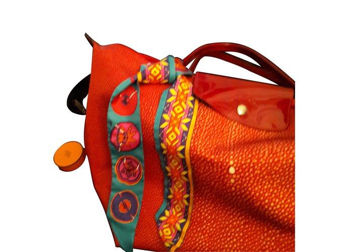 f3ea7c69399f Foulards Hermès BELLES DU MEXIQUE Soie Multicolore ref.8621 - Joli ...