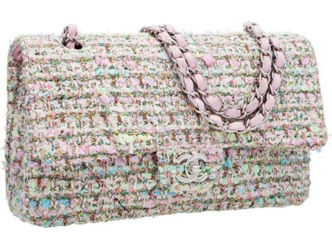 70e4bede04a6 Chanel Handbags Handbags Tweed Pink ref.8682 - Joli Closet