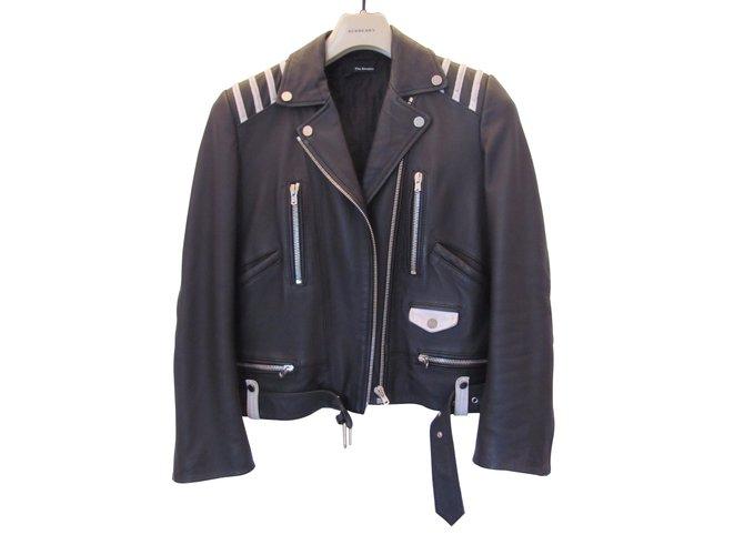 1f5fe7eb5d The Kooples Biker jackets Biker jackets Leather Black ref.9459 ...
