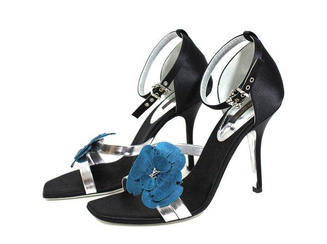 Louis Vuitton Sandals Sandals Other Black ref.9486