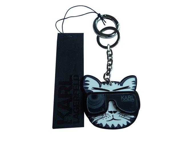 Karl Lagerfeld Bag Charms Bag Charms Plastic Black Ref9558 Joli