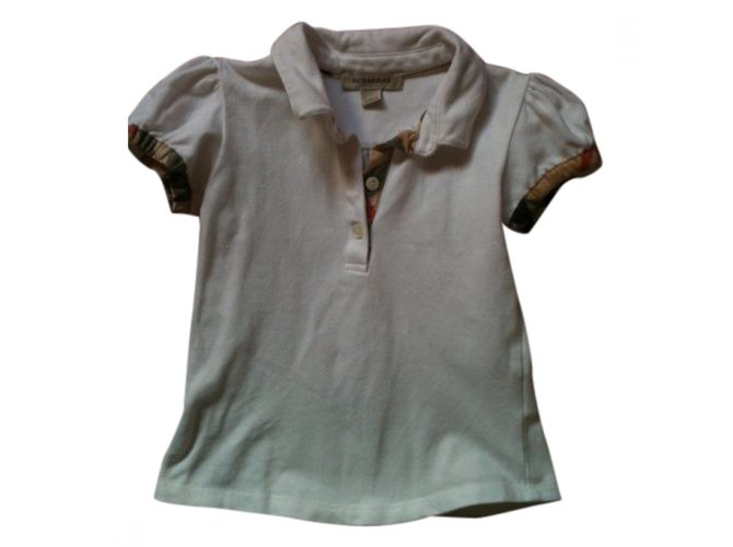 Burberry Tops Tees Tops Tees Other White ref.9620